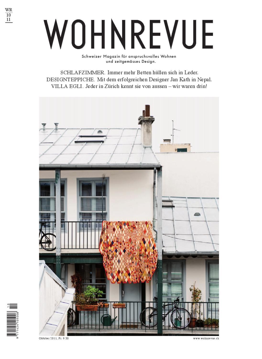 Wohnrevue 10 2011 by Boll Verlag - issuu