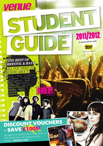 Venue Student Guide 2011 by Venue Publishing - issuu 905f6e19b9f