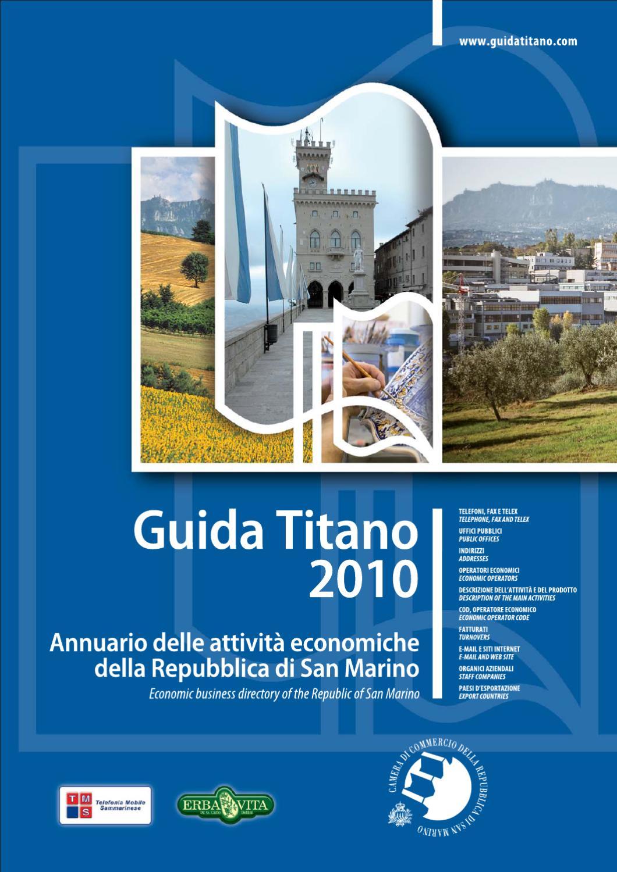 Guida Titano 2010 by Camera di Commercio San Marino   San Marino Chamber of  Commerce - issuu b981f2fb6b4