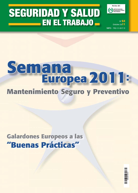 Revista de Seguridad y Salud - Octubre 2011 by laminarrieta - issuu