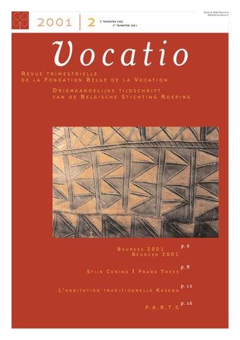 Vocatio 2 2001 By Fondation Vocatio Issuu