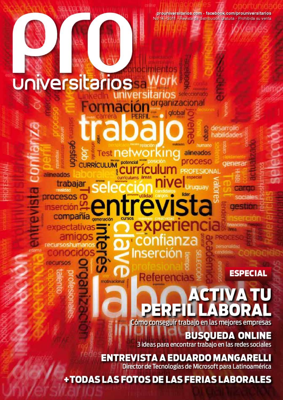 PRO Universitarios #14 by Medios y contenidos - issuu