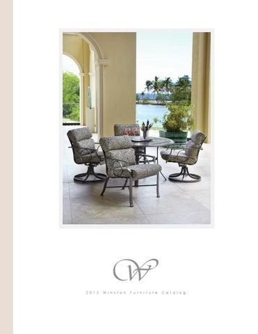 Peachy 2012 Winston Furniture Catalog By Winston Furniture Issuu Theyellowbook Wood Chair Design Ideas Theyellowbookinfo