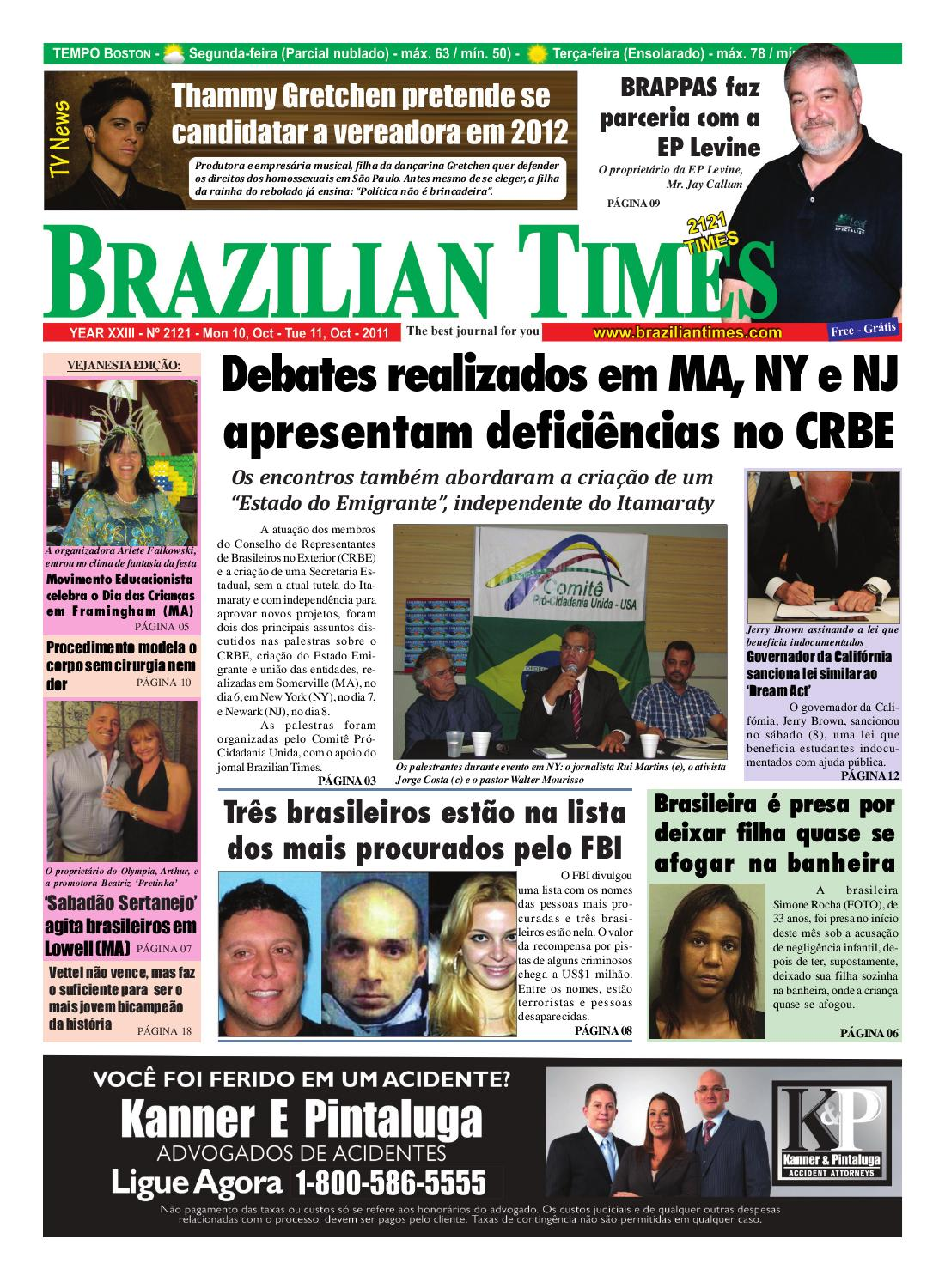 MA 2121 by The Brazilian Times Newspaper - issuu 7e57beb1c7f