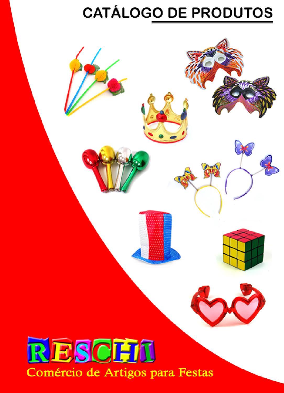aa440d03d3 Catalogo de Produtos Reschi - Edição 1.6 by Reschi Artigos para Festas -  issuu