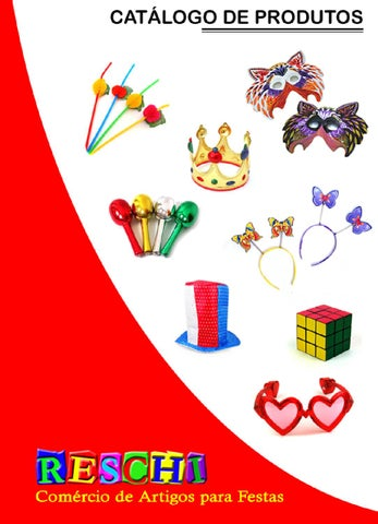 a405d72b2 Catalogo de Produtos Reschi - Edição 1.6 by Reschi Artigos para ...