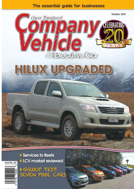 Nz Company Vehicle October 2011 By Adrenalin Publishing Ltd Issuu Chain Timing Tensioner Gear For Mitsubishi Pajero Pickup Triton