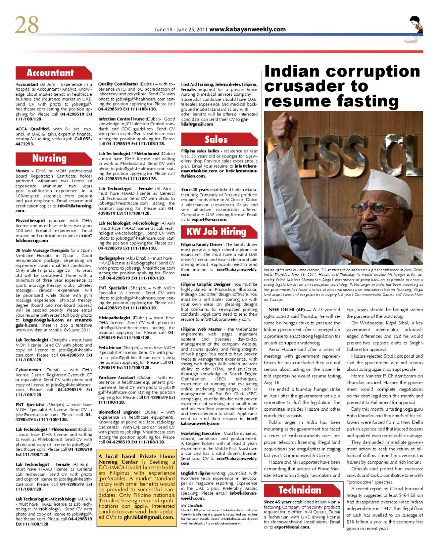 Kabayan Weekly - UAE by Louie Garcia - issuu
