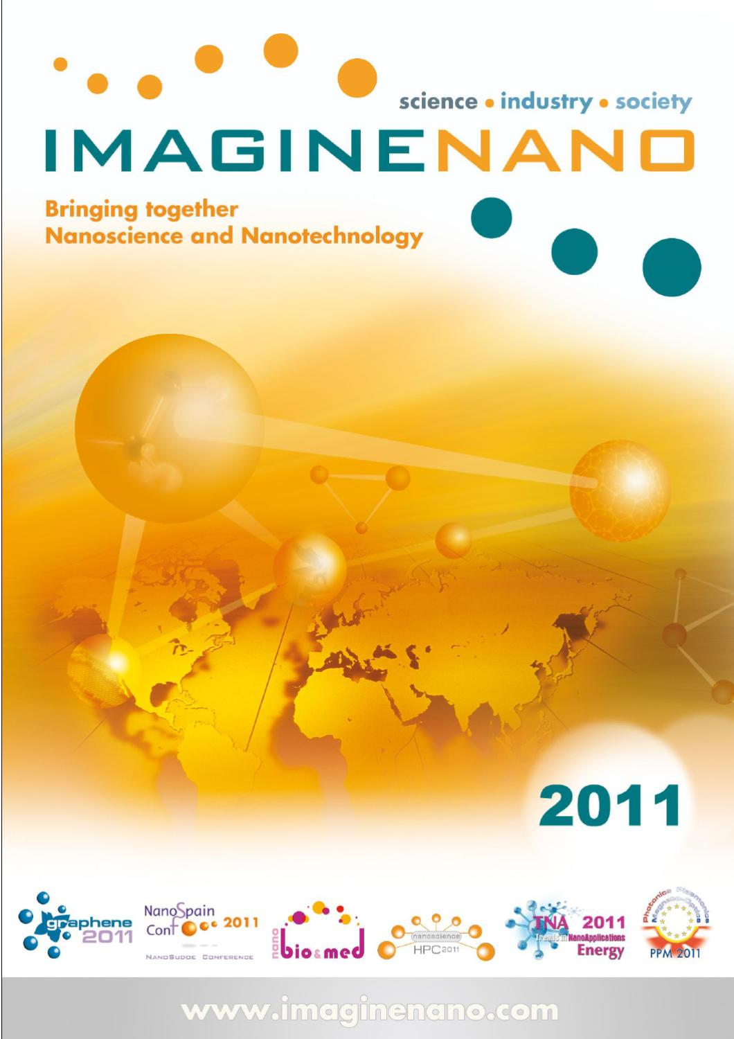 Imaginenano Abstract Booklet By Phantoms Foundation Issuu