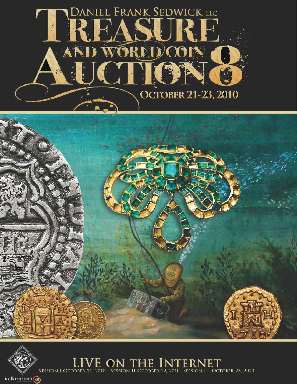 foto de Treasure and World Coins Auction #8 by Daniel Frank Sedwick, LLC ...