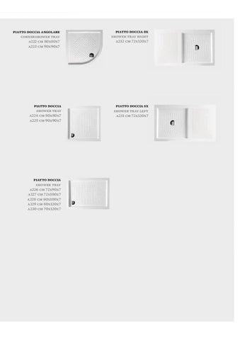 Hidra Ceramica Piatto Doccia.Hidra Ceramica Catalogue 2011 Sanitaryware And Bathroom