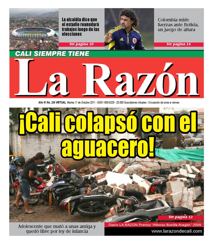 Diario La Razón martes 11 de octubre by Edgar Buitrago Rico - issuu