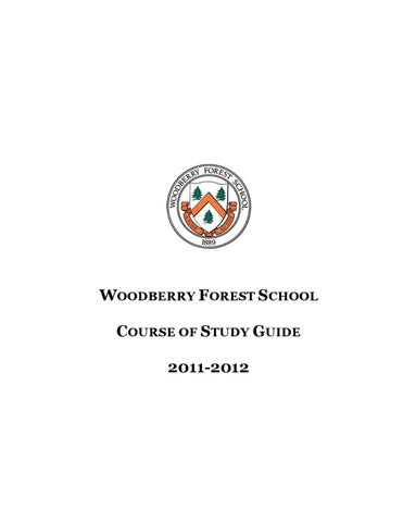 academic course of study guide by woodberry forest school issuu