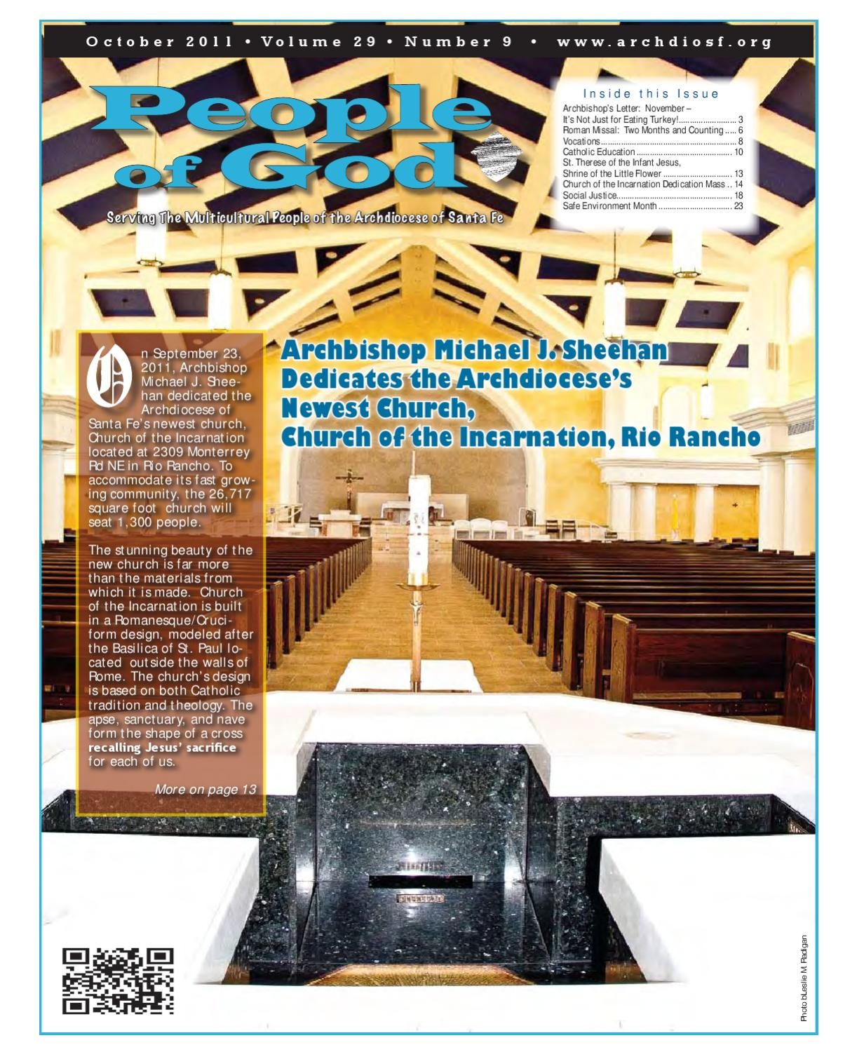 People of God, October 2011 by Archdiocese of Santa Fe - issuu