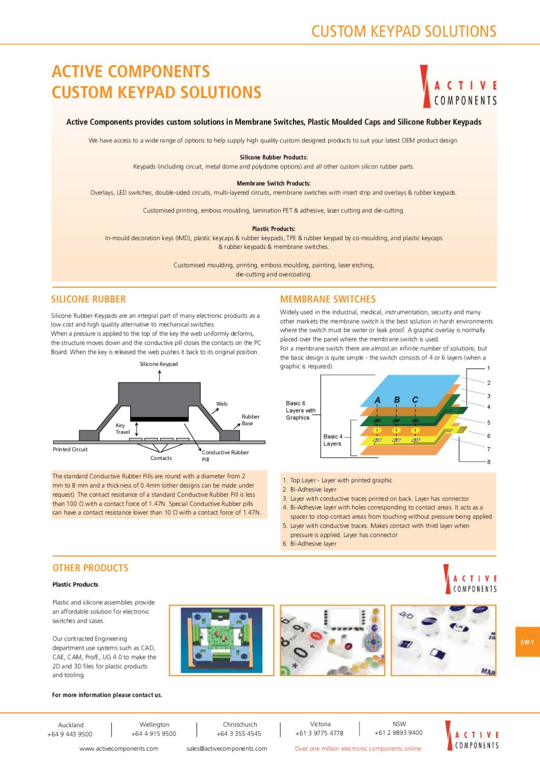 Switches And Sensors By Active Components Issuu Vandal Switch Piezo Capacitive Circuit Protection
