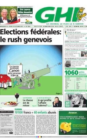 GHI du 13.10.2011 by GHI   Lausanne Cités - issuu dd1a5f145b47