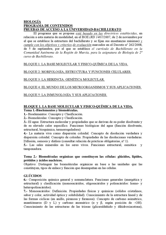 Programación Biología 2011 2012 By Ies Ruiz De Alda Issuu