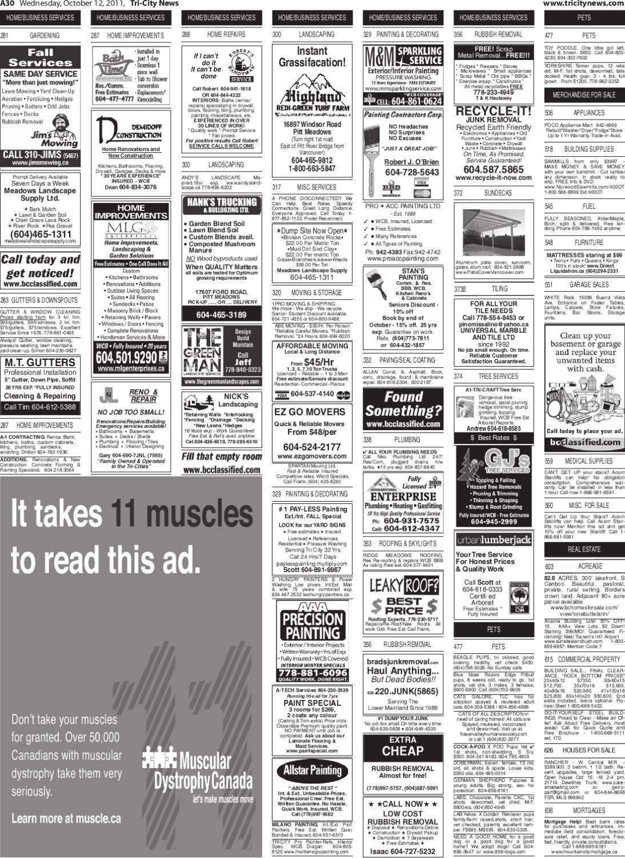 Wednesday, October 12, 2011 Tri-City News by Tri-City News