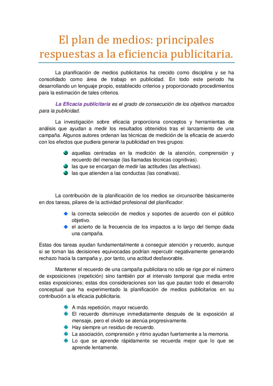 Ensayo plan de medios by Alejandro Martinez - issuu