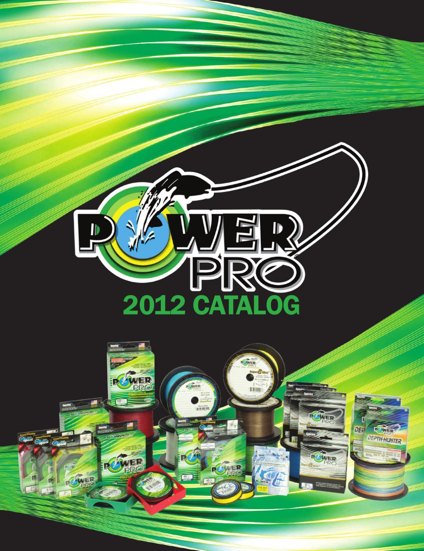 *NEW Power Pro Depth-Hunter Fishing Line Metered 65lb 4500ft 1500Yd 21100651500J