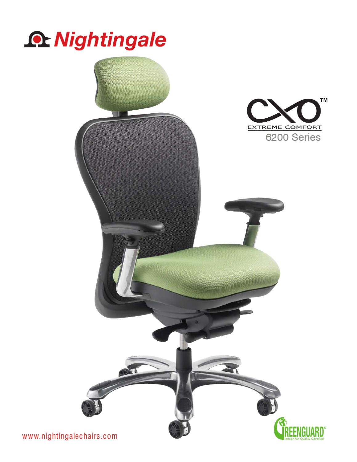 Nightingale Cxo Office Ergonomic Chair