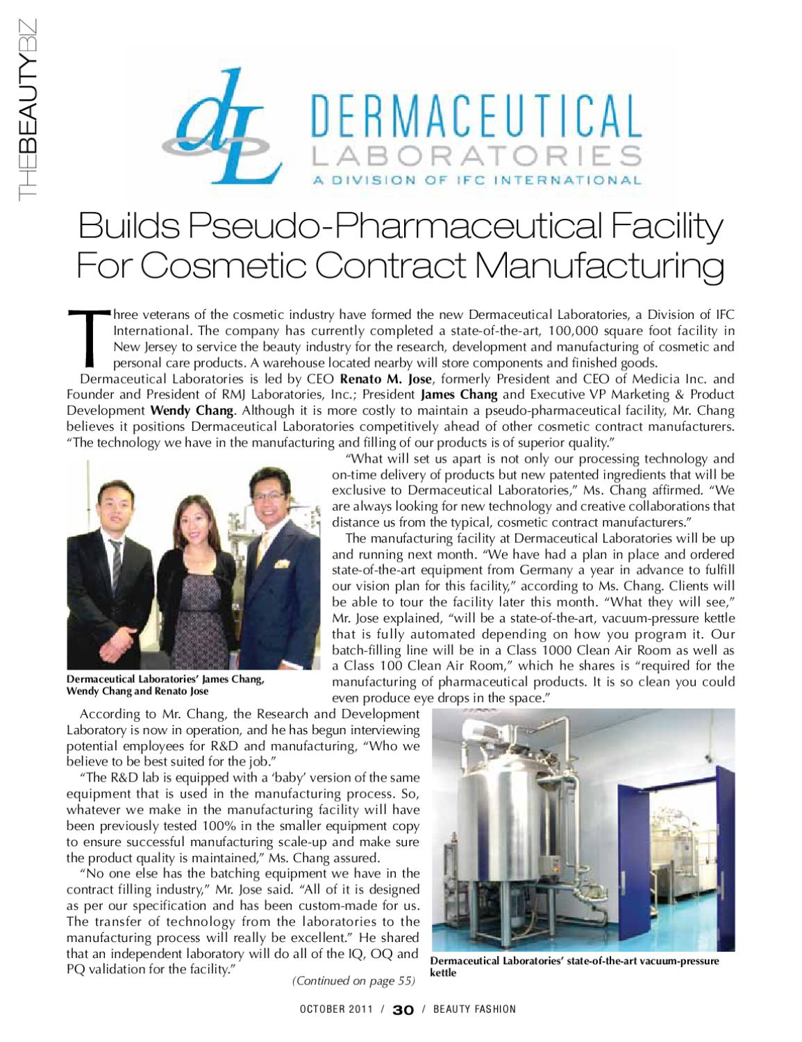 Dermaceutical labs