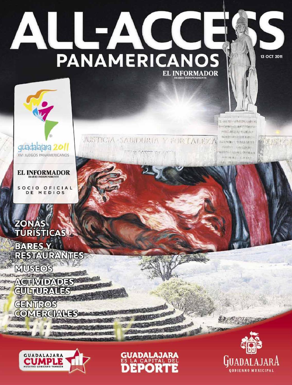 Suplemento All Acces Panamericanos By El Informador Issuu