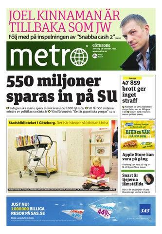 20111013 se goteborg by metro sweden issuu for Pub cash piscine
