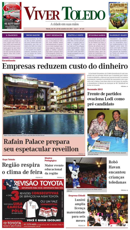 115ª edição do Jornal Viver Toledo by JORNAL VIVER TOLEDO - issuu a869d770bd168
