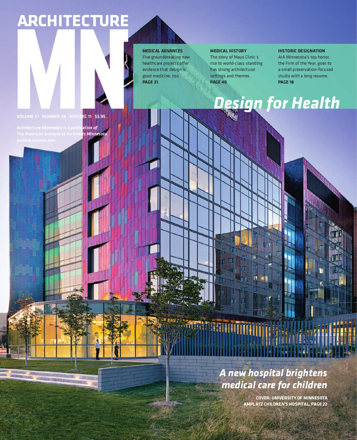 Small Architecture Firms Minneapolis: Architecture MN Magazine By Architecture MN
