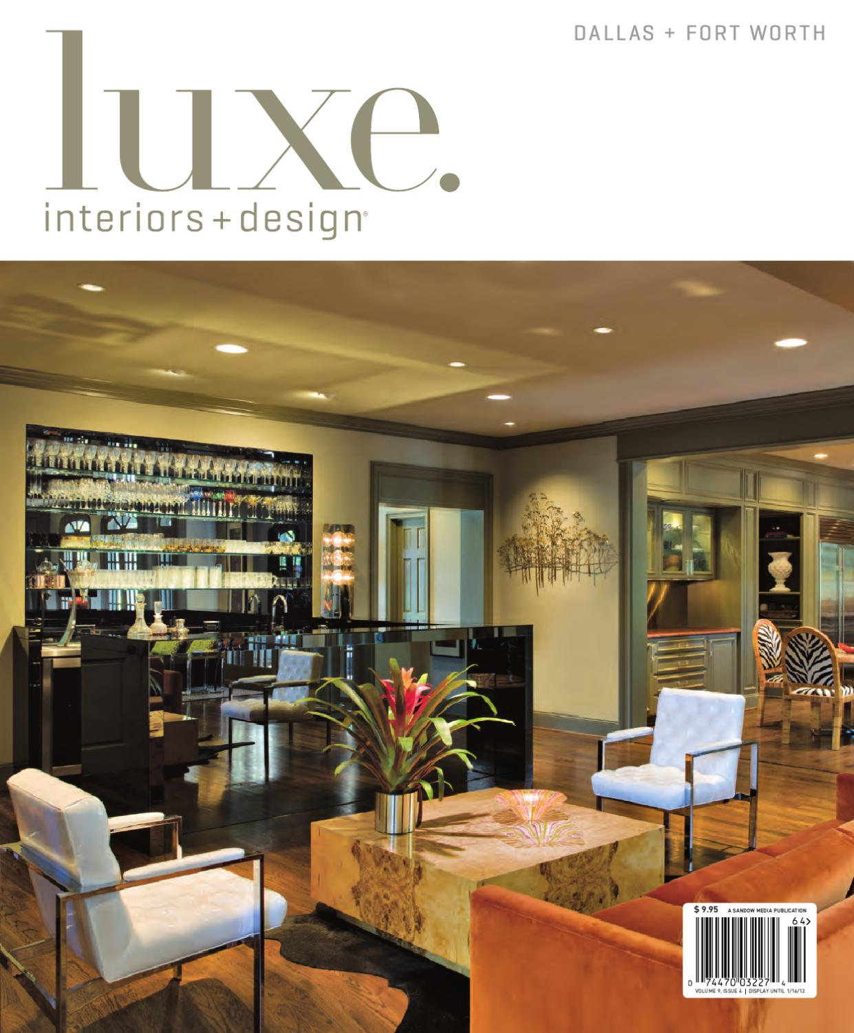 LUXE Interiors Design Dallas 20 By Sandow Media
