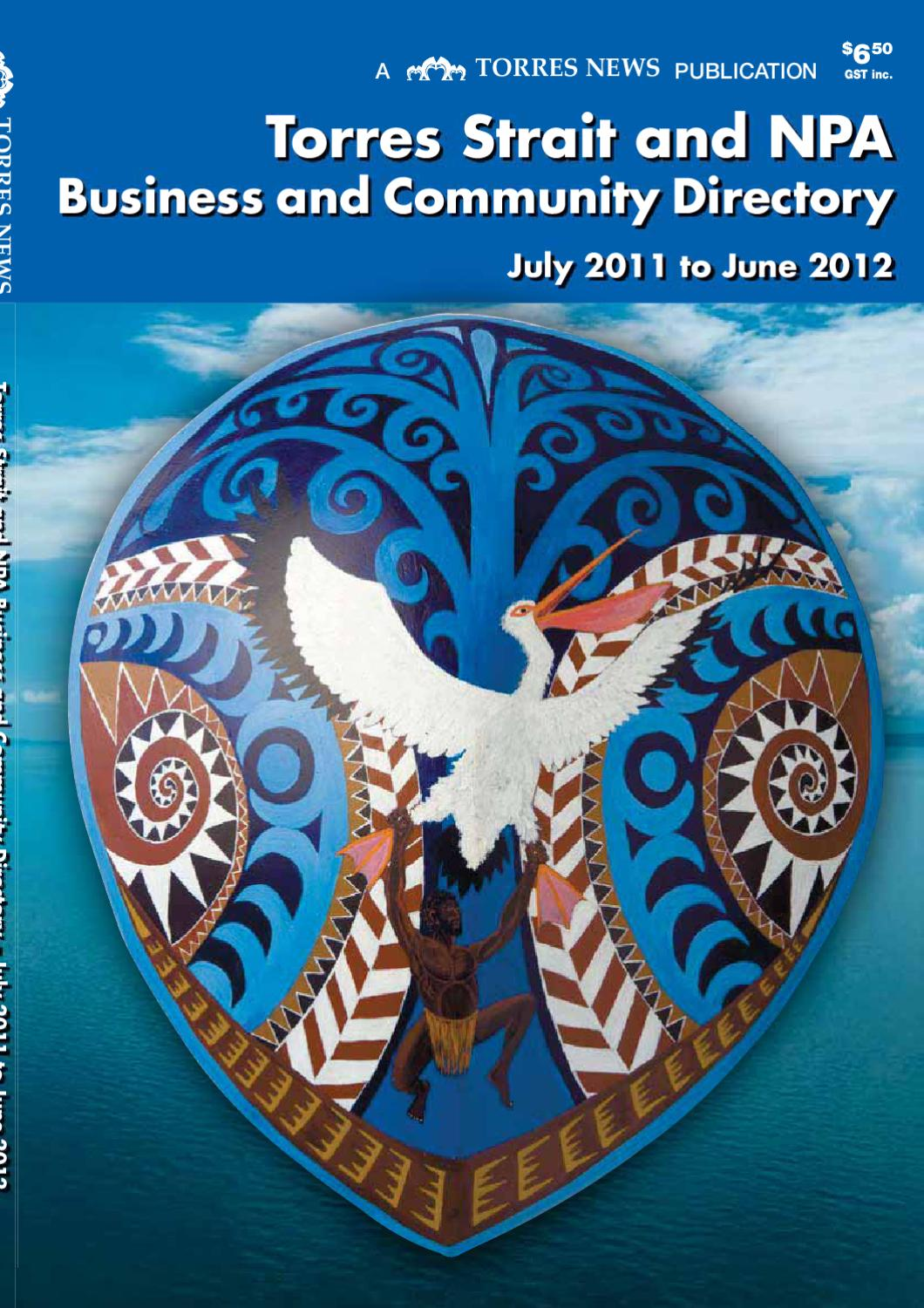Torres Strait and NPA Business and Community Directory 2100