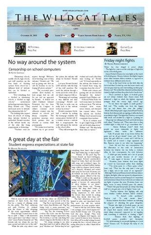 Issue 2 October 14, 2011 by Plano Senior High School - issuu