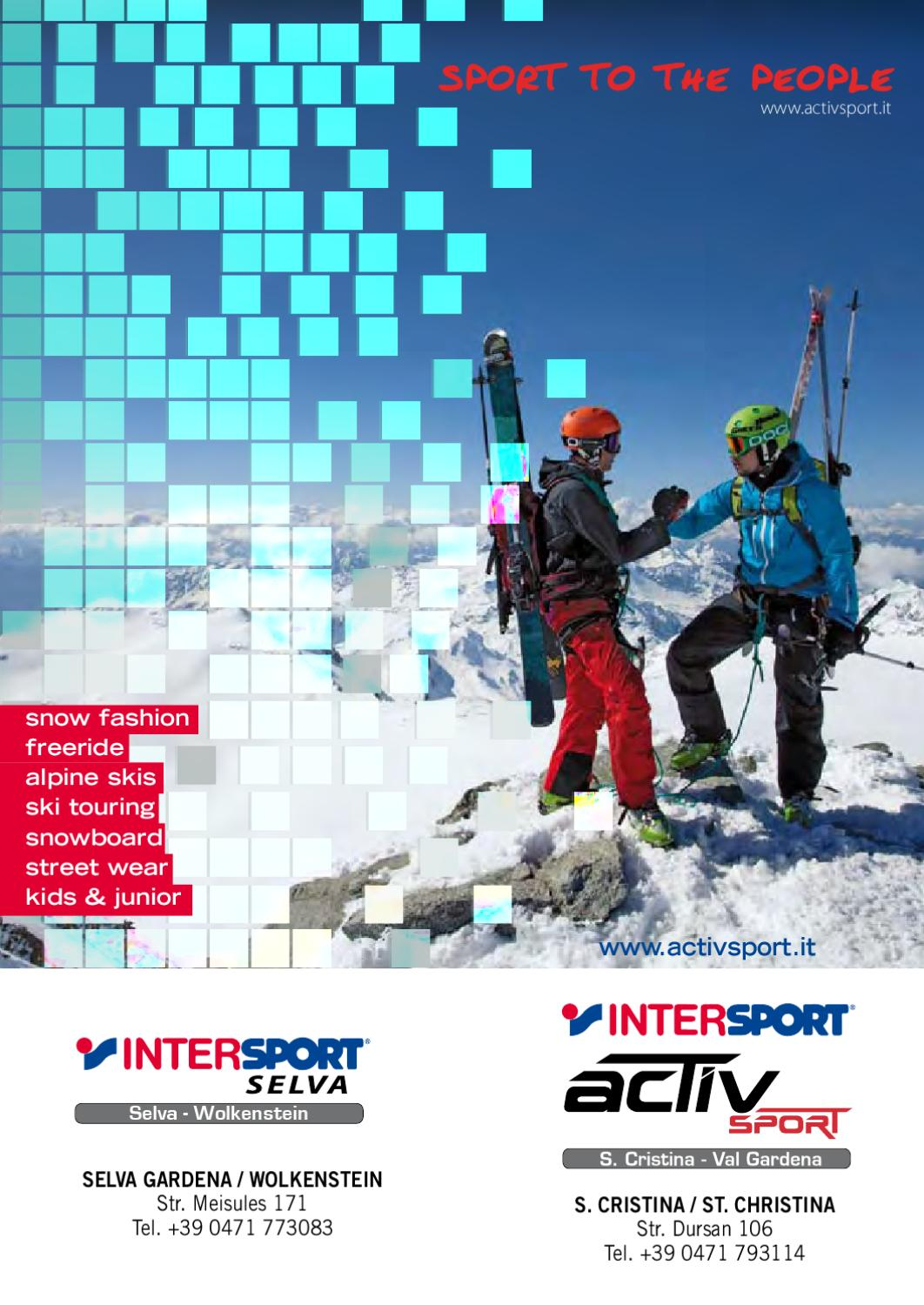 SPORTLER snow. 2014 2015 by SPORTLER - issuu dbe26ebb26e