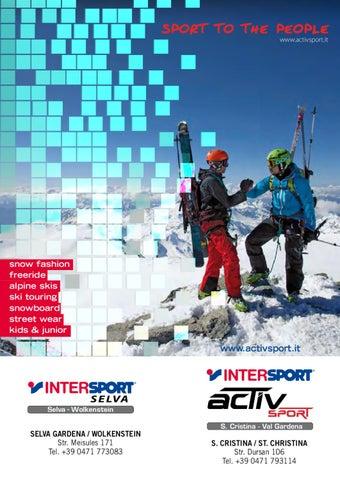 Intersport Activ Sport Winter book by Armin Senoner issuu