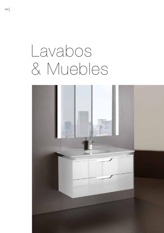 Roca lavabos y muebles by eurocasa issuu for Lavabos de encastrar