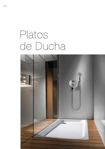Roca cat logo platos de ducha 2011 2012 by eurocasa issuu for Duchas roca catalogo