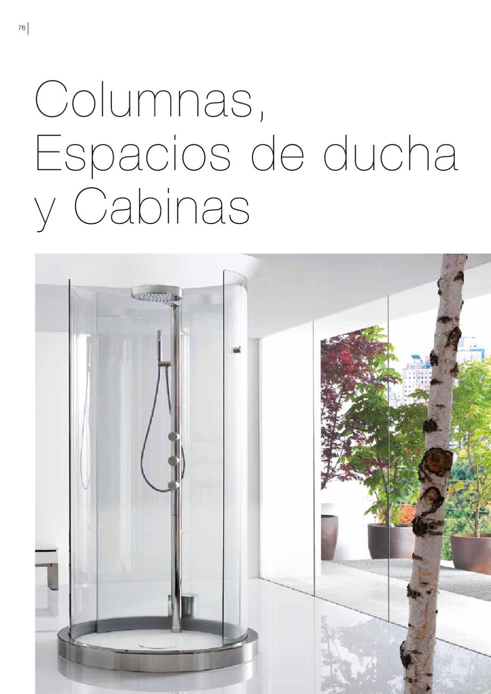Roca cabinas columnas hidromasaje 2011 2012 by eurocasa for Cabinas de ducha roca