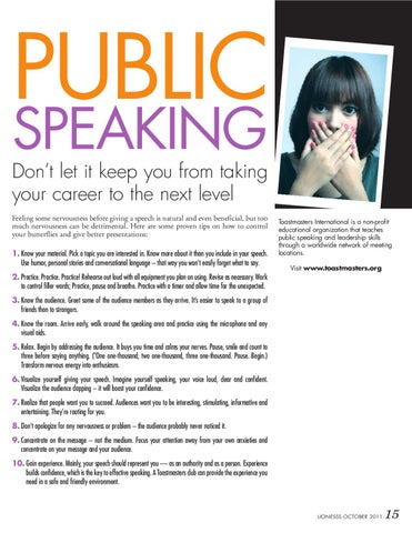 Page 15 of Fear of Public Speaking