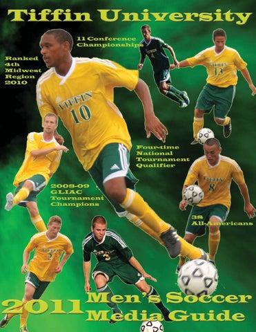 2011 Tiffin University Men S Soccer Media Guide By Tiffin University Athletics Issuu