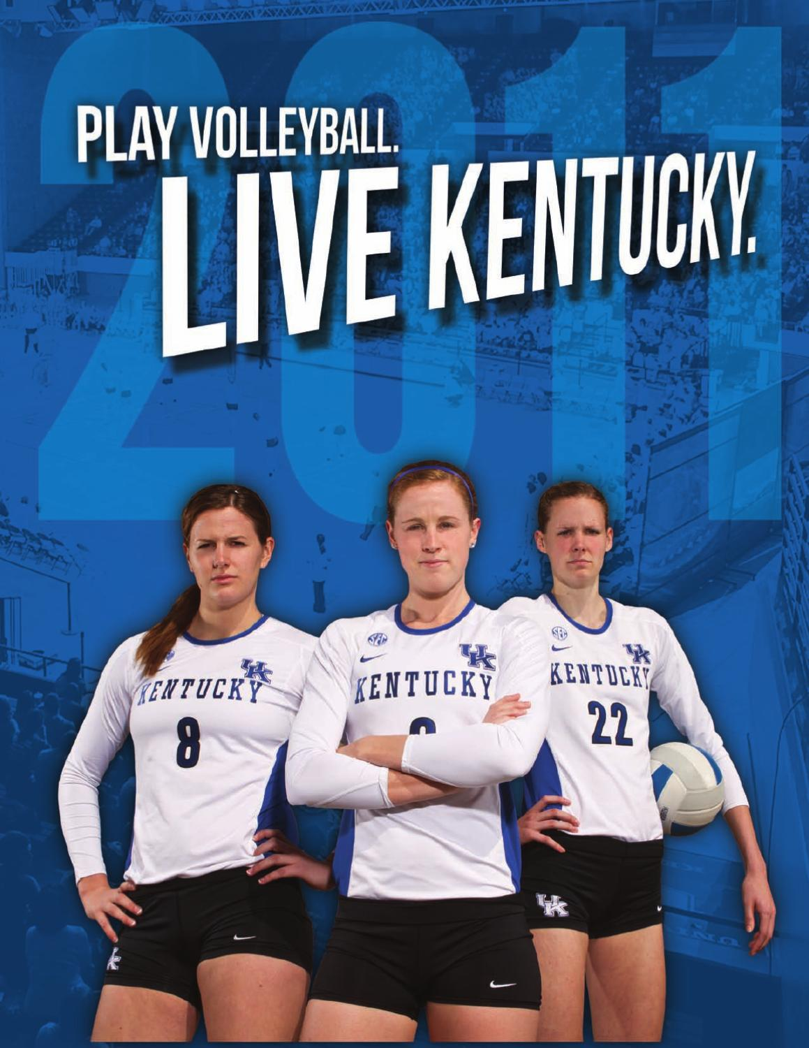 2011 Volleyball Media Guide By University Of Kentucky Athletics Issuu