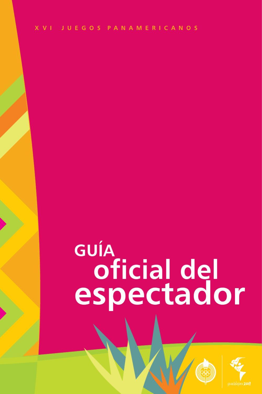 Guia Y Programacion Panamericanos Guadalajara 2011 By