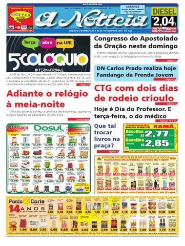 Edição dos dias 15 e 16 de outubro de 2011 by Jornal A Notícia - issuu e07e9b01ba