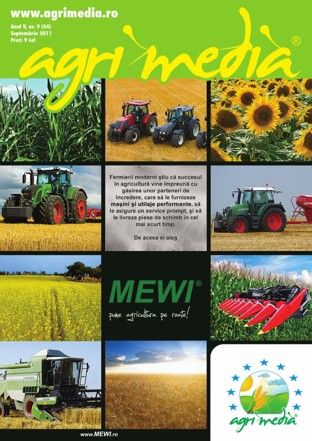 Revista AGRIMEDIA Septembrie 2011 by Agri Media Invest s.r.l. - issuu