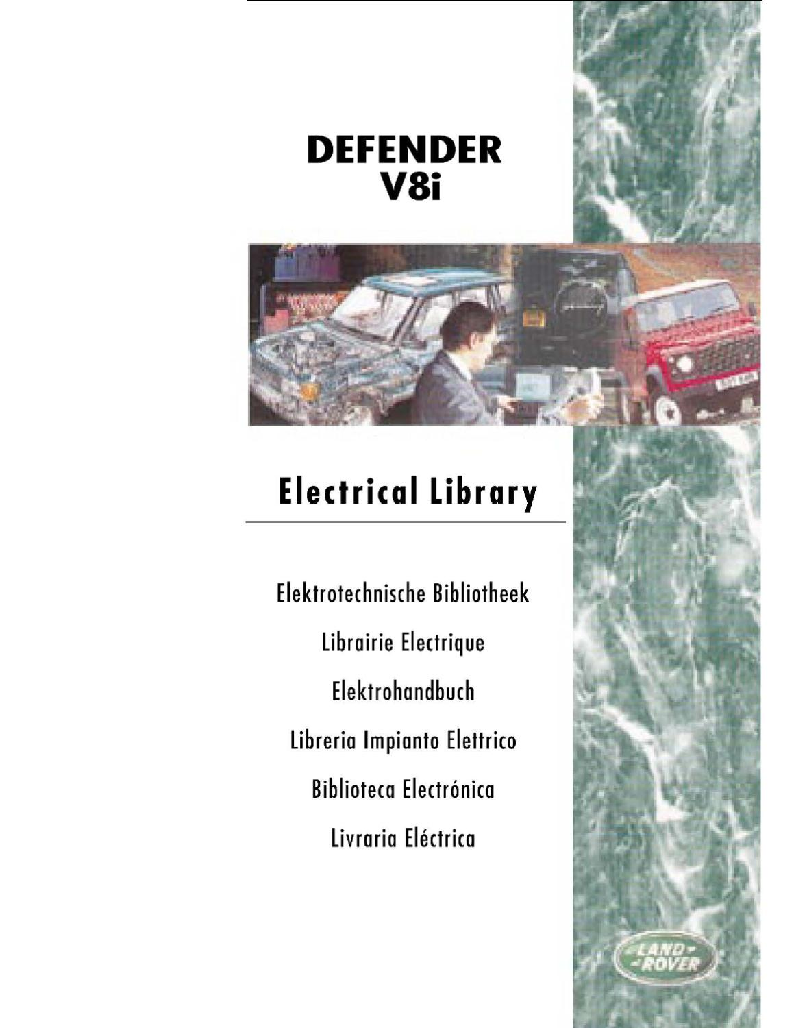 Defender 50th Anniversary Electrical Library By Allan