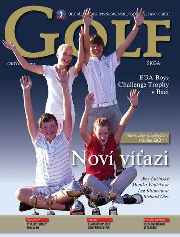 9a06fe7e97589 Golf SKGA 07-2011 by Juraj Spanik - issuu