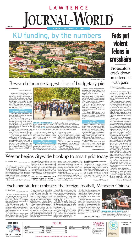 Lawrence Journal-World 10-17-11 by Lawrence Journal-World - issuu