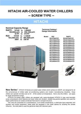 z0011121 vii b by navid anari issuu rh issuu com hitachi water cooled screw chiller manual Hitachi Shovel