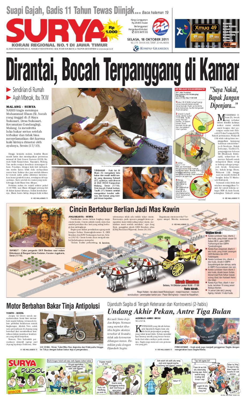 Surya Edisi 18 Oktober 2011 By Harian Issuu Produk Ukm Bumn Jus Durian Lite Kuning Omah Duren