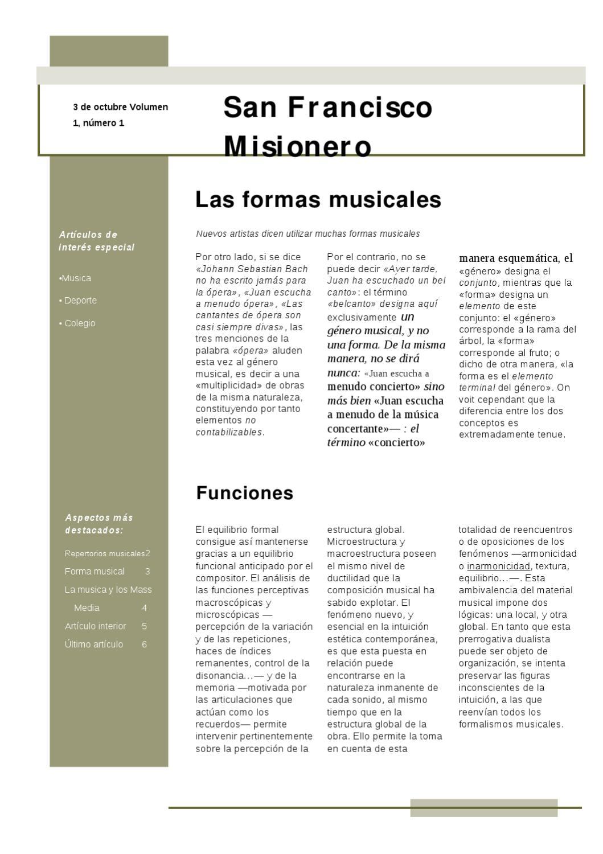 Revista Colegio San Francisco Misionero By Rachel Paskal